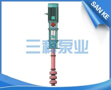 高温高扬程熔盐液下泵